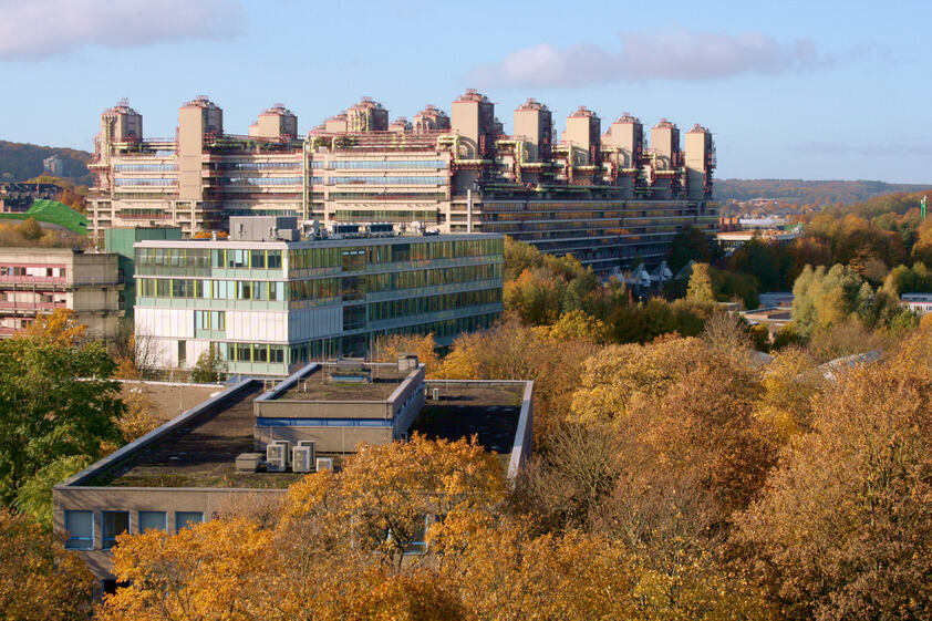 NEw Buidling of the Department of Biology